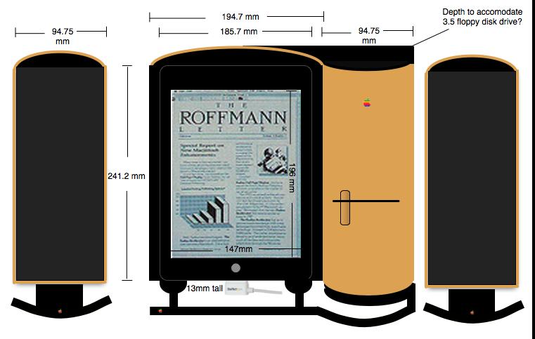 Design measurement for Pomona prototype